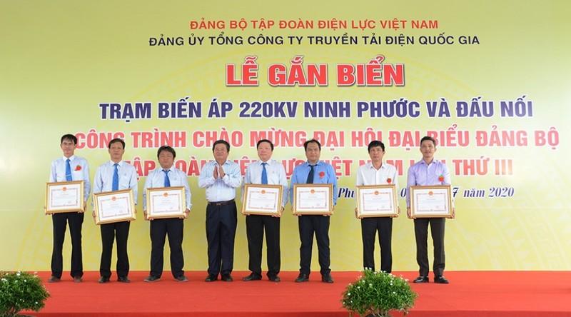 Trạm 220 kV Ninh Phước giải toả công suất năng lượng tái tạo - ảnh 2