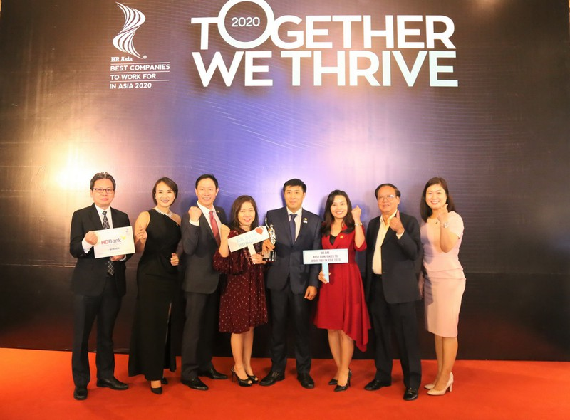 HDBank: Ba năm liền là 'Nơi làm việc tốt nhất châu Á' - ảnh 2