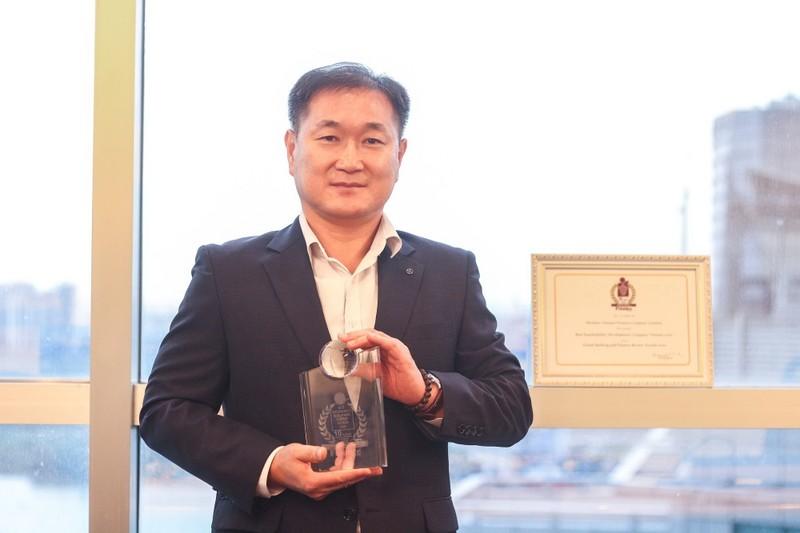 Shinhan Finance nhận giải thưởng Phát triển bền vững năm 2020  - ảnh 1