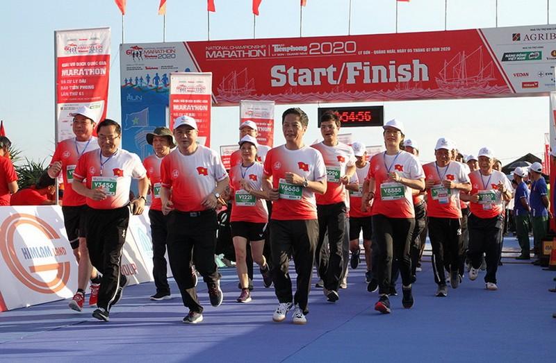 Agribank tại Giải Vô địch Quốc gia Marathon - ảnh 1