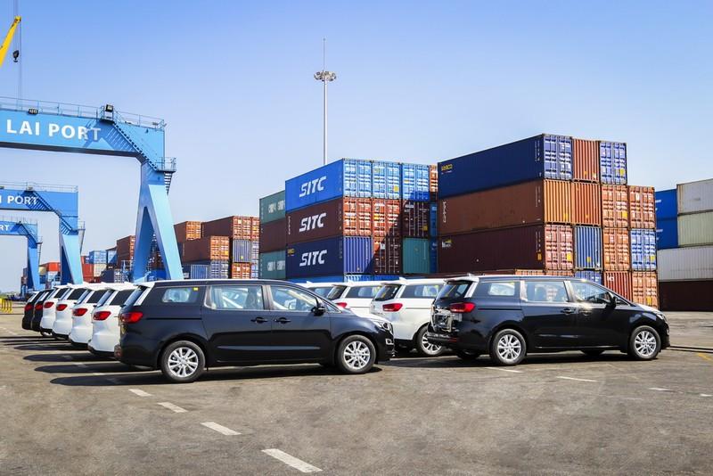THACO xuất khẩu ô tô qua Thái Lan - ảnh 1