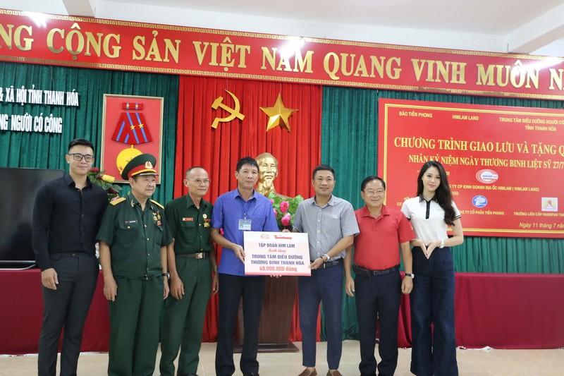 Him Lam Land tặng quà 10 trung tâm điều dưỡng thương binh nặng - ảnh 1