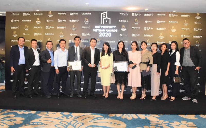 Him Lam Land: Nhiều giải thưởng tại Dot Property Vietnam Award - ảnh 1