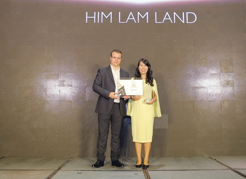 Him Lam Land: Nhiều giải thưởng tại Dot Property Vietnam Award - ảnh 2
