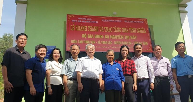 Him Lam Land tặng nhà tình nghĩa cho gia đình liệt sĩ Hà Tĩnh  - ảnh 1