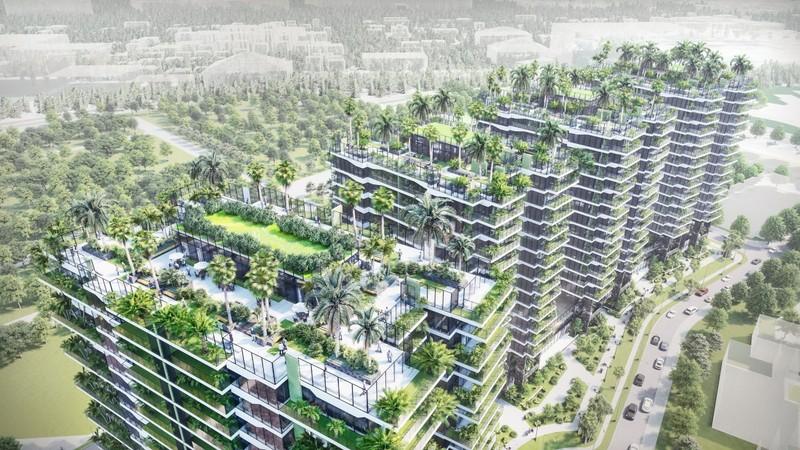 Xu hướng vườn đứng phủ mát các cao ốc tại Việt Nam - ảnh 3
