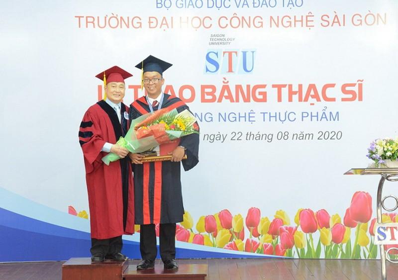 STU tổ chức lễ tốt nghiệp Thạc sĩ ngành Công nghệ Thực phẩm    - ảnh 1