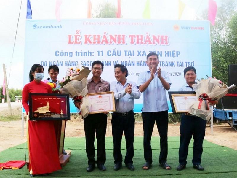 Vietbank tài trợ xây 6 cầu giao thông nông thôn tại Long An    - ảnh 2