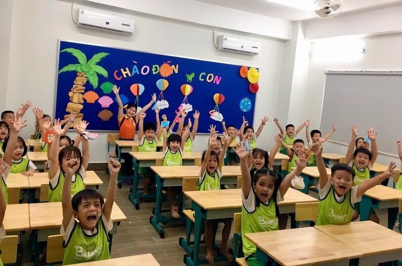Trường tiểu học Tre Việt sẵn sàng chào năm học mới - ảnh 1