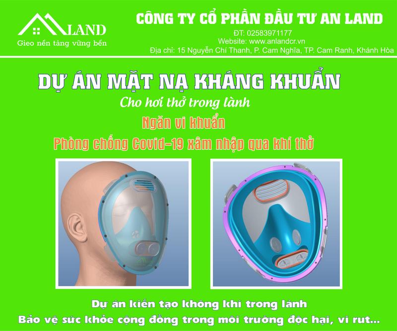Ra mắt mặt nạ kháng khuẩn ưu việt phòng chống COVID-19     - ảnh 1