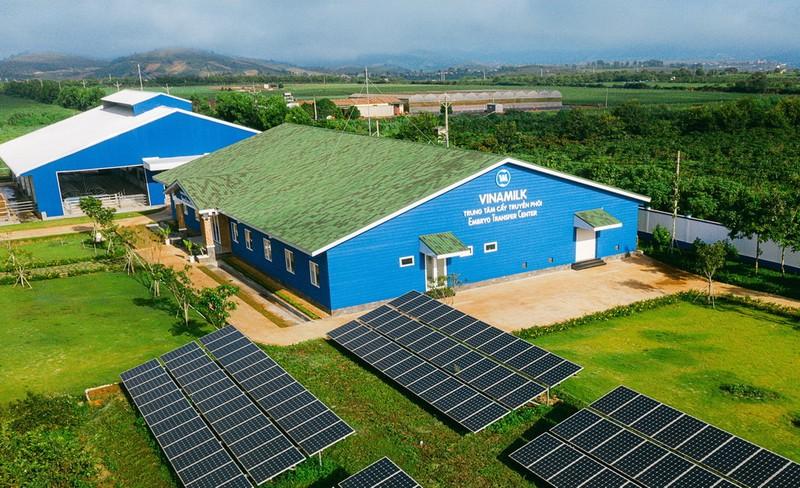 Hệ thống trang trại Vinamilk tăng trưởng ấn tượng - ảnh 2