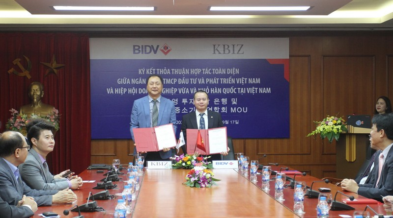 BIDV hợp tác toàn diện với KBIZ-VN - ảnh 1
