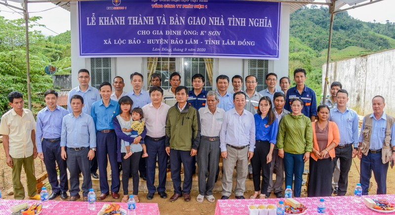 EVNGENCO1 trao tặng nhà tình nghĩa tại Lâm Đồng             - ảnh 3