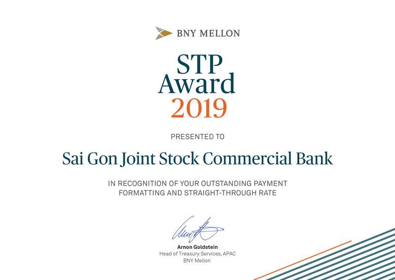 SCB nhận giải thưởng uy tín của Bank of New York Mellon - ảnh 1