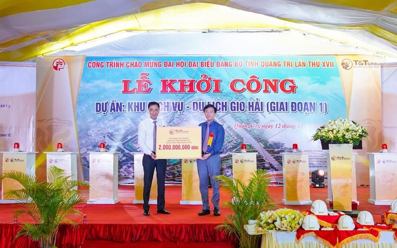 T&T Group khởi công dự án gần 4.500 tỉ tại Quảng Trị - ảnh 3