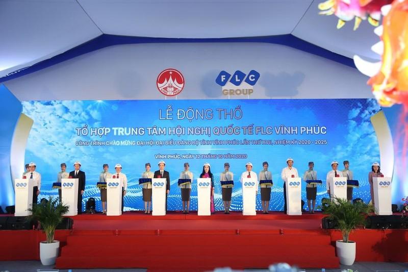 FLC xây trung tâm hội nghị quốc tế tại Vĩnh Phúc - ảnh 1
