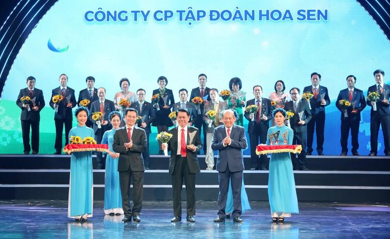 Tôn Hoa Sen nhận Thương hiệu Quốc gia lần thứ 5 - ảnh 1