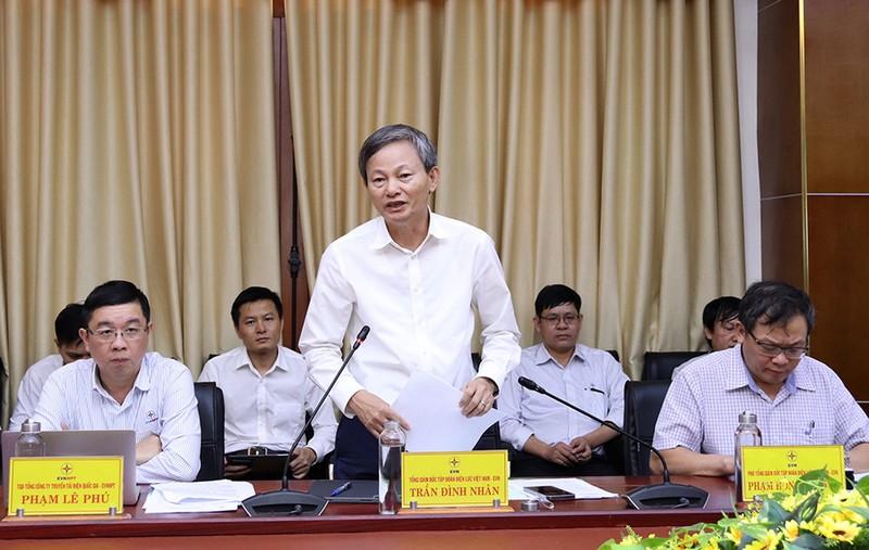 Tổng Giám đốc EVN làm việc về truyền tải điện tại Quảng Trị    - ảnh 1