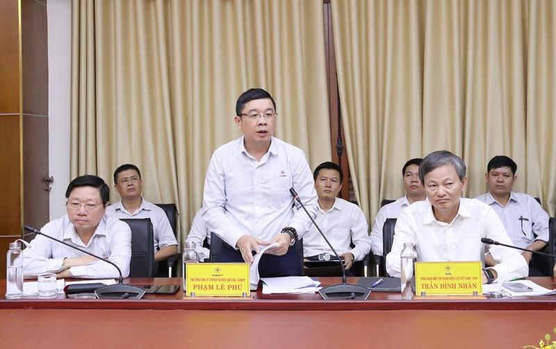 Tổng Giám đốc EVN làm việc về truyền tải điện tại Quảng Trị    - ảnh 2