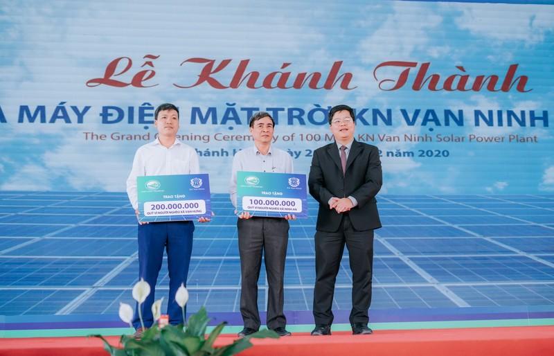 Khánh thành dự án nhà máy điện mặt trời KN Vạn Ninh 100 MWp - ảnh 3