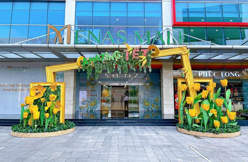 Đón năm mới diệu kỳ tại Menas Mall Saigon Airport - ảnh 1