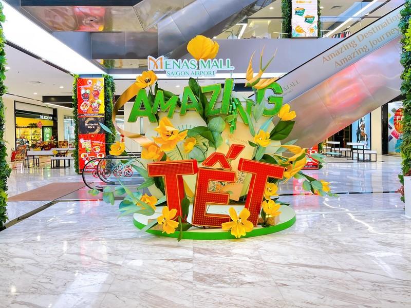 Đón năm mới diệu kỳ tại Menas Mall Saigon Airport - ảnh 3