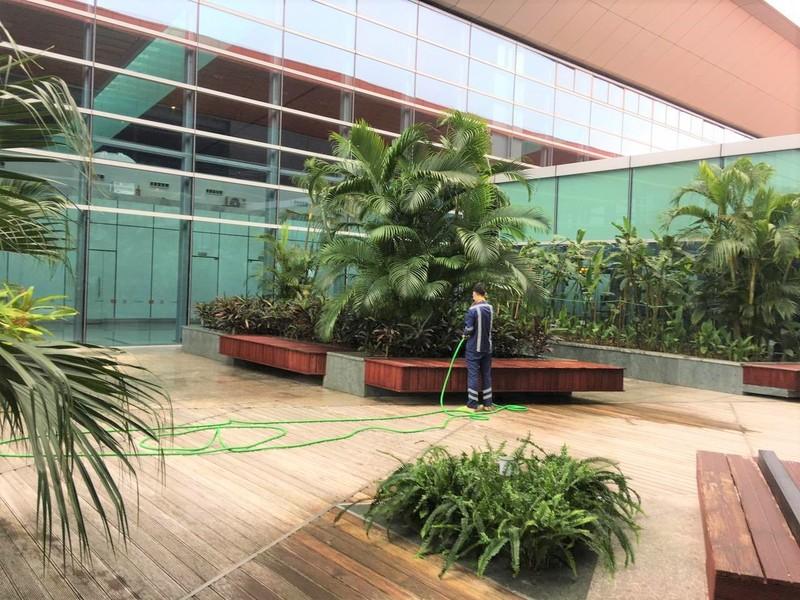 Cảng hàng không quốc tế Vân Đồn đảm bảo an toàn phòng dịch - ảnh 2