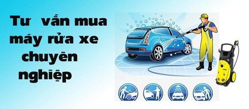Tư vấn chọn máy rửa xe chuyên nghiệp giá rẻ chính hãng         - ảnh 1