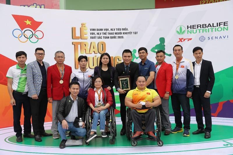Herbalife cùng Tổng Cục Thể dục Thể thao vinh danh VĐV, HLV  - ảnh 2