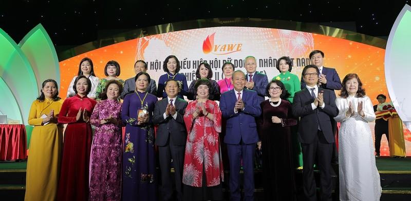 Tiếp tục một nhiệm kỳ Chủ tịch Hiệp hội Nữ Doanh nhân Việt Nam - ảnh 1