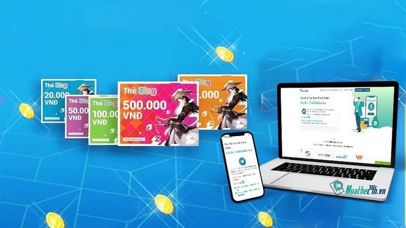Mua thẻ điện thoại, thẻ game nhanh chóng tại muathe24h.vn      - ảnh 2