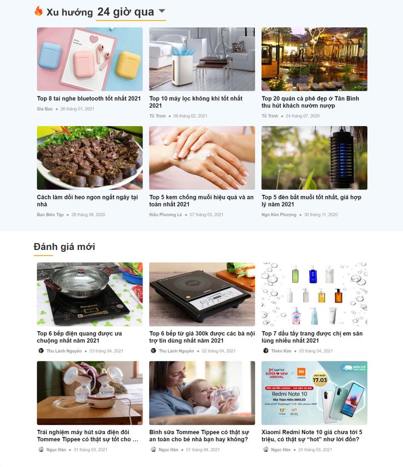 """Vietreview.vn - Website đánh giá bằng """"nội dung"""" thật      - ảnh 2"""