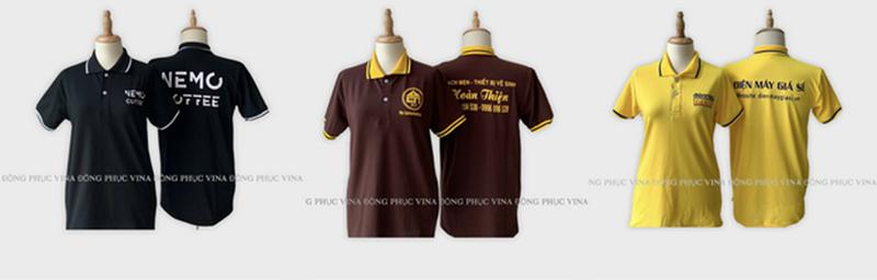 Đặt may áo thun đồng phục tại Đồng Phục Vina - ảnh 2