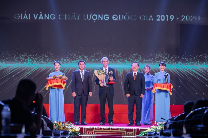 TH lần thứ ba đoạt giải Vàng Chất lượng quốc gia - ảnh 1