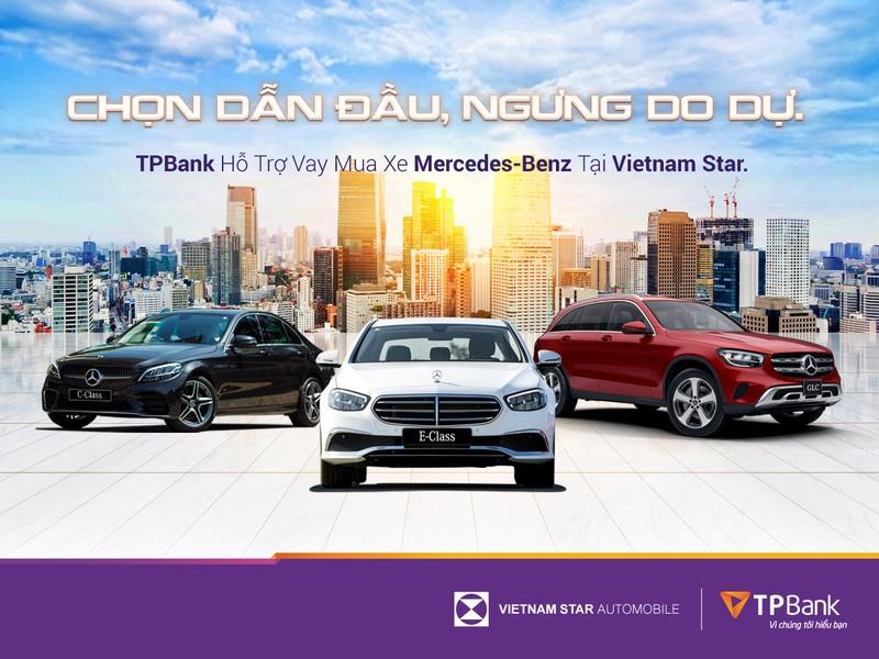 Sở hữu Mercedes-Benz chỉ từ 5 triệu đồng/tháng cùng TPBank    - ảnh 1