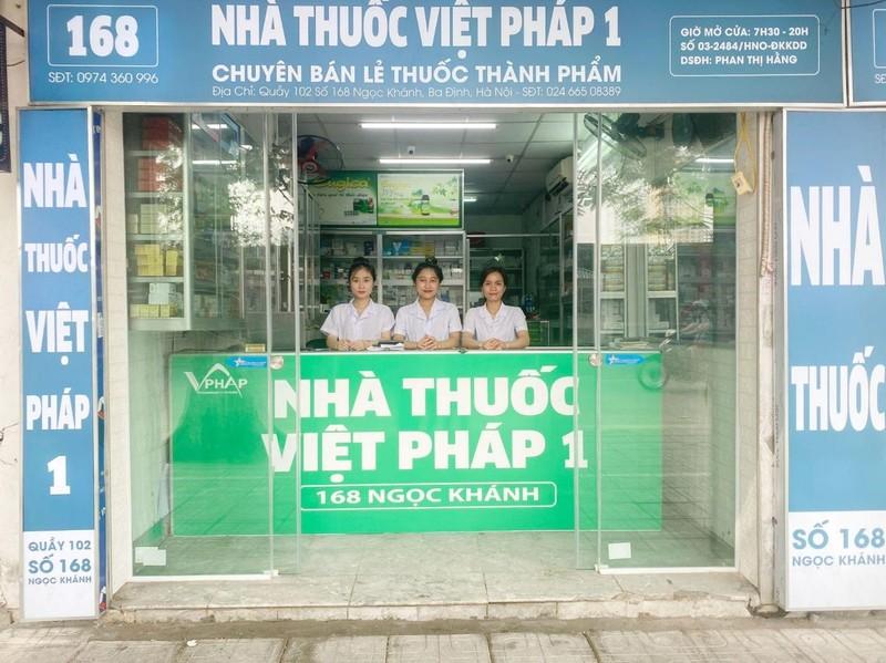 Nhà thuốc Việt Pháp 1 - Nhà thuốc tốt của người Việt - ảnh 1
