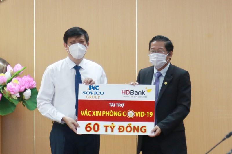 Sovico Group, HDBank ủng hộ 60 tỷ đồng cho chương trình vaccin - ảnh 1