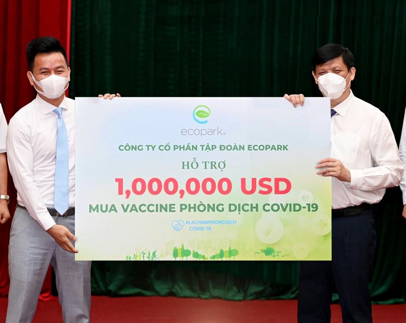 Ecopark tặng thuốc đặc trị Covid-19