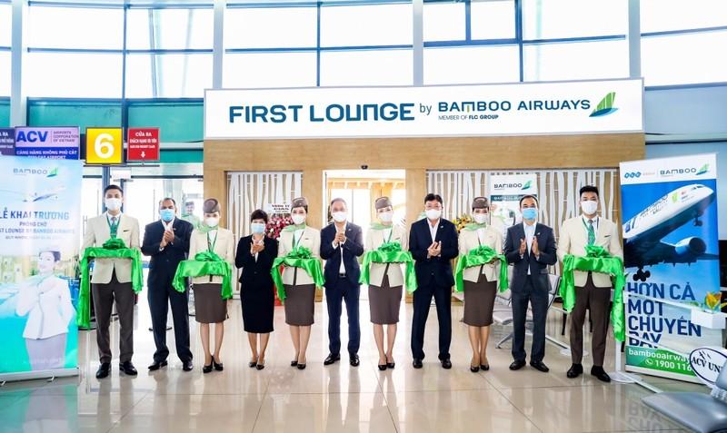 Bamboo Airways khai trương phòng chờ thương gia tại Quy Nhơn - ảnh 1