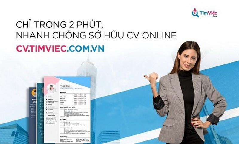 Cơ hội sở hữu việc làm siêu nhanh nhờ CV xin việc tại Cv.timviec.com.vn      - ảnh 1