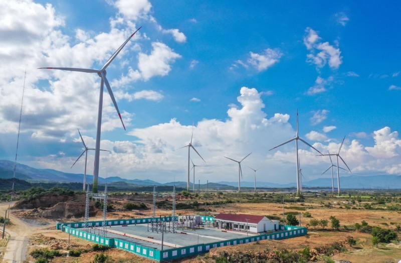 Vận hành dự án điện gió hơn 1.600 tỉ đồng trước thời hạn - ảnh 1
