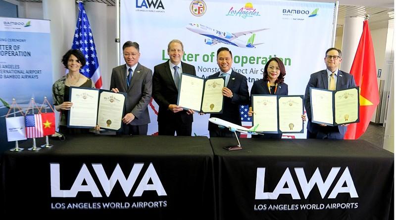 Tháng 10, Bamboo Airways có chuyến bay thẳng TP.HCM - Los Angeles   - ảnh 1