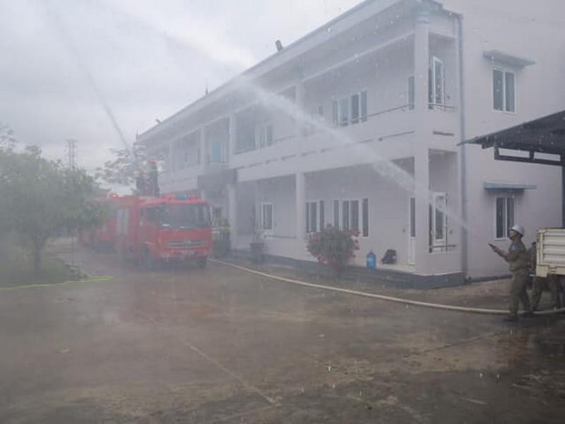 EVNNPT luôn chủ động nâng cao ý thức phòng cháy chữa cháy - ảnh 2
