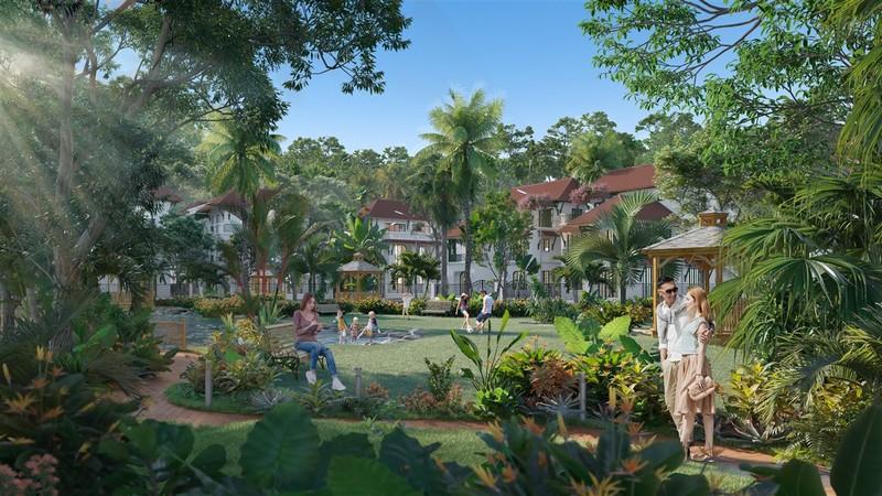 Phân khu Tropical Park 'nóng' nhất 'Ngôi làng nhiệt đới' Nam Phú Quốc - ảnh 1