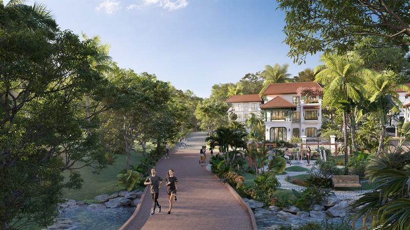 Phân khu Tropical Park 'nóng' nhất 'Ngôi làng nhiệt đới' Nam Phú Quốc - ảnh 2