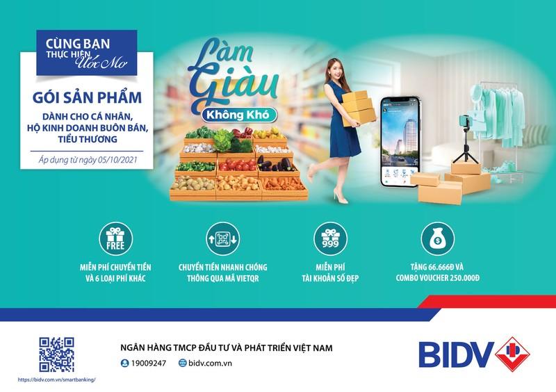 BIDV ra mắt gói tài chính dành riêng cho hộ kinh doanh - ảnh 1