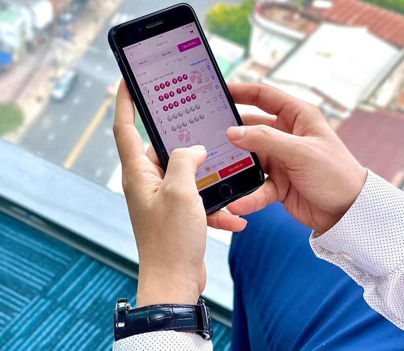 Xổ số Max3D tiện lợi khi có mặt trên điện thoại - ảnh 1