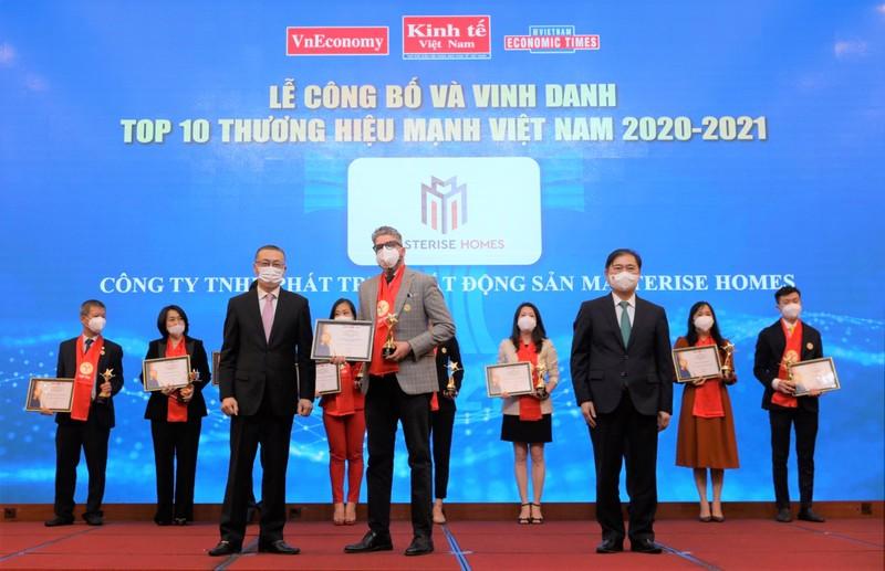Masterise Homes vào Top 10 Thương hiệu mạnh Việt Nam 2021 - ảnh 1