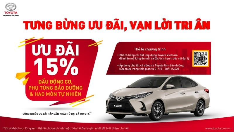 Toyota Việt Nam tri ân khách hàng cuối năm 2021 - ảnh 1