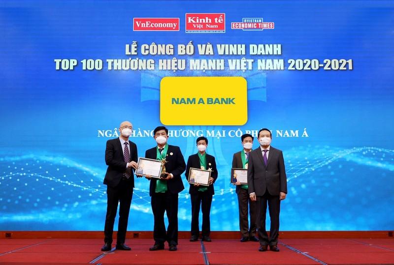 Nam A Bank – 'Thương hiệu mạnh Việt Nam' 6 lần liên tiếp   - ảnh 1